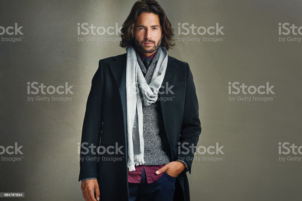 Dress the way you want to be addressed stock photo