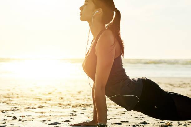 Für ein Training unter der Sonne gekleidet – Foto