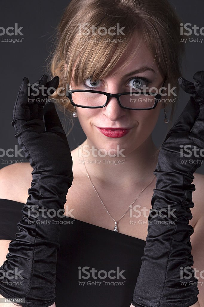 Dressed For The Evening royalty-free stock photo