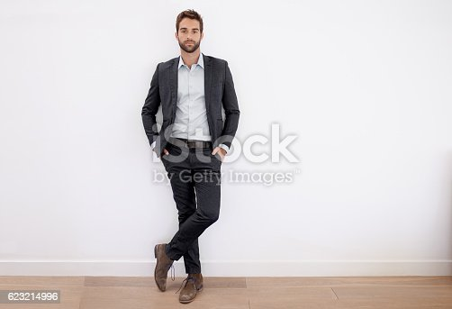 istock Dressed in his business best 623214996