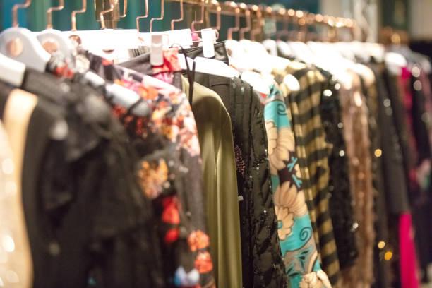 Vestidos de ahorcado - foto de stock