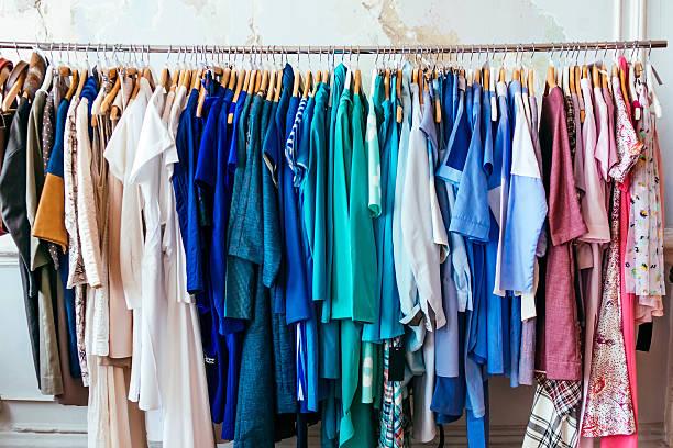 Dresses stock photo