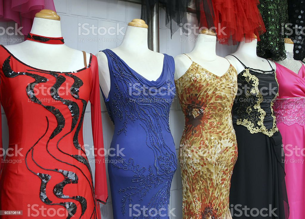 Dresses royalty-free stock photo
