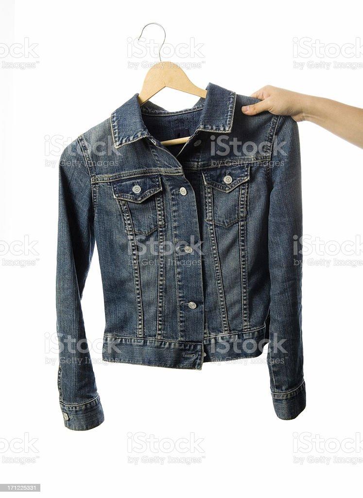 Dressing in Denim stock photo