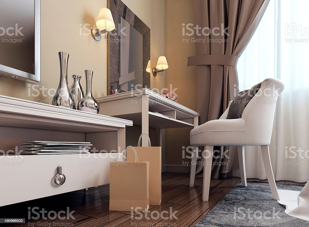 . Dressing Table In Neoclassicism Style Stock Photo   More Pictures of 2015