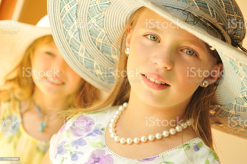 Dressing Up royalty-free stock photo