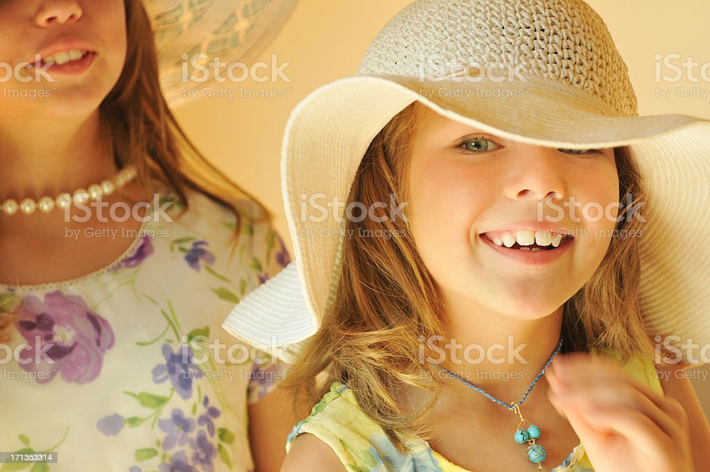 Dressing Up stock photo