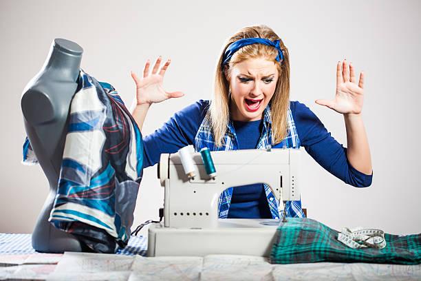 dressmaker - nähpuppen stock-fotos und bilder