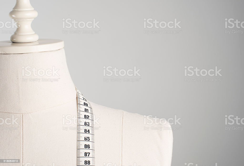 Dressmaker's Mannequin stock photo