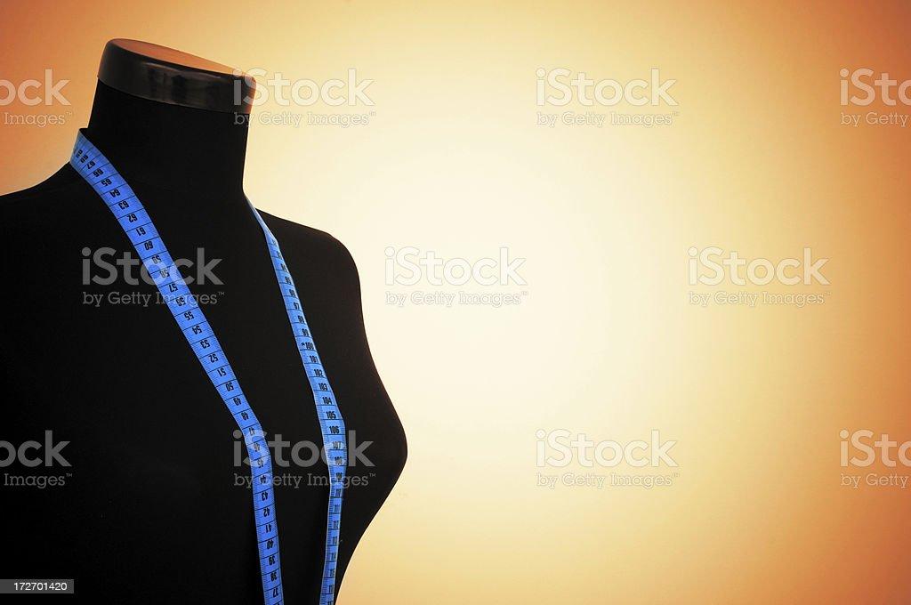Dressmakers Model royalty-free stock photo