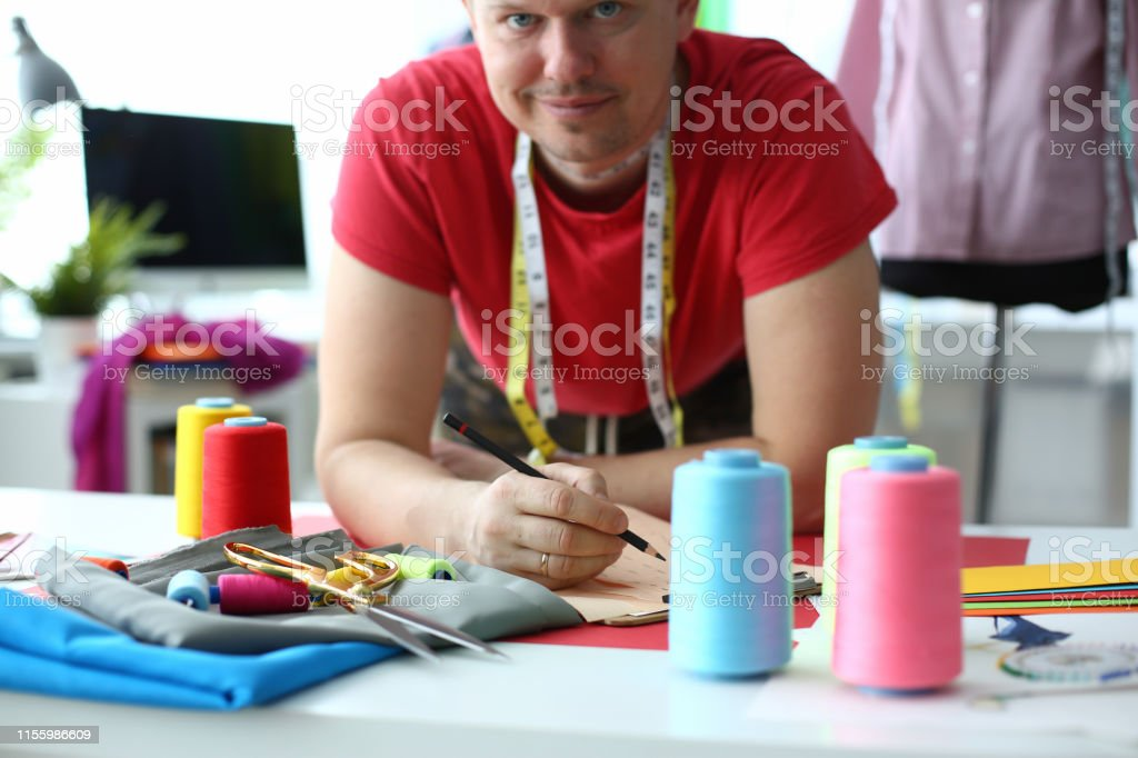 Dressmaking And Sewing Concept Fashion Designer Stock Photo Download Image Now Istock