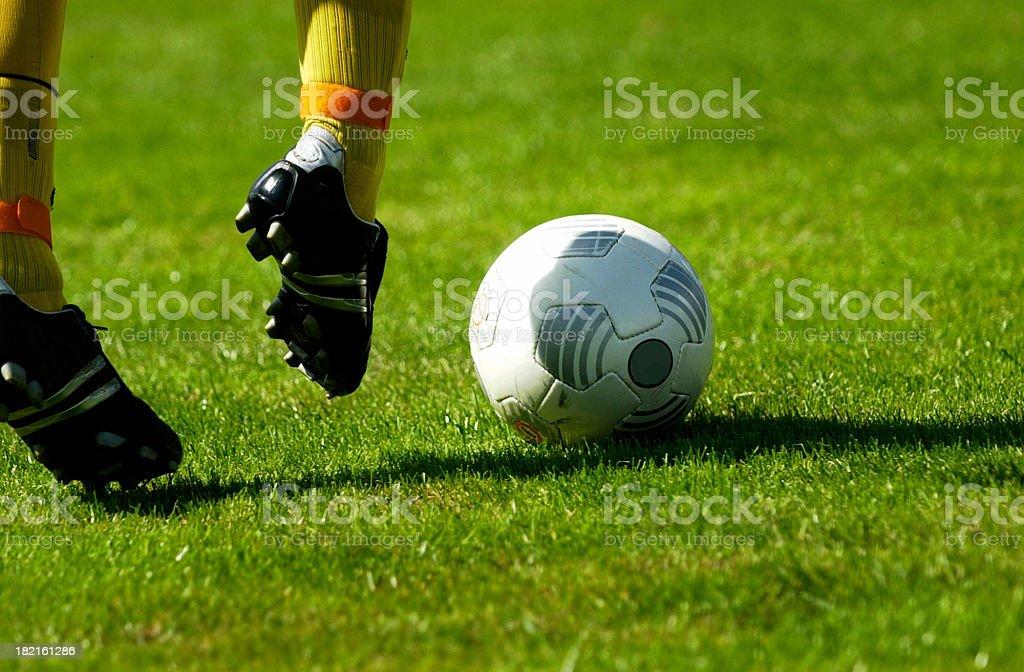 Dribbeln den ball – Foto