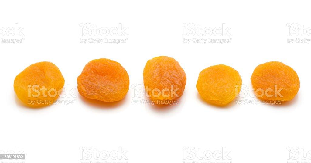 Dried Apricot stock photo
