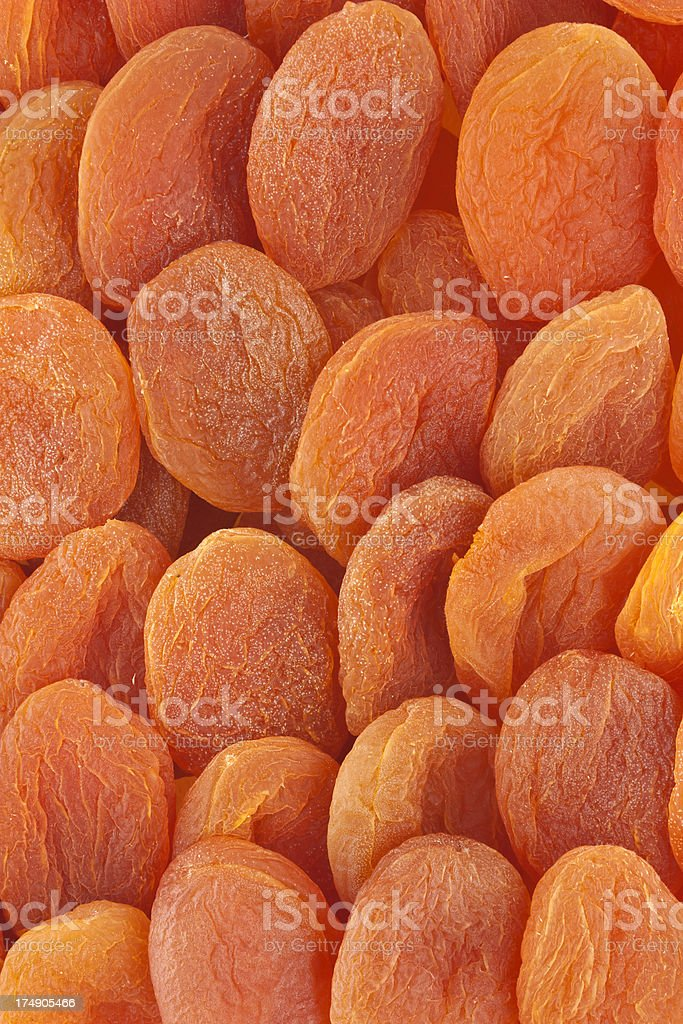dried apricots, organic food and drink photo royalty-free stock photo