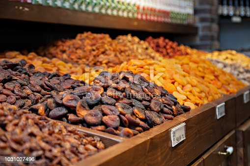 Dried Fruits - dried apricots.