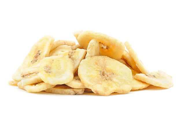 Dried Banana Pile stock photo