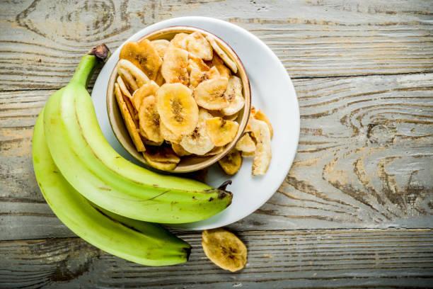 말린된 바나나 plantains - 플렌틴 바나나 뉴스 사진 이미지