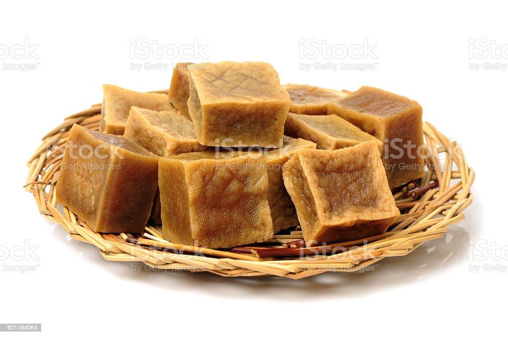 Le tofu séché photo libre de droits