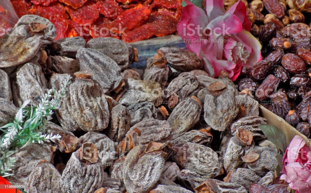 Dried Berry Fruits And Poppies For Traditional Turkish