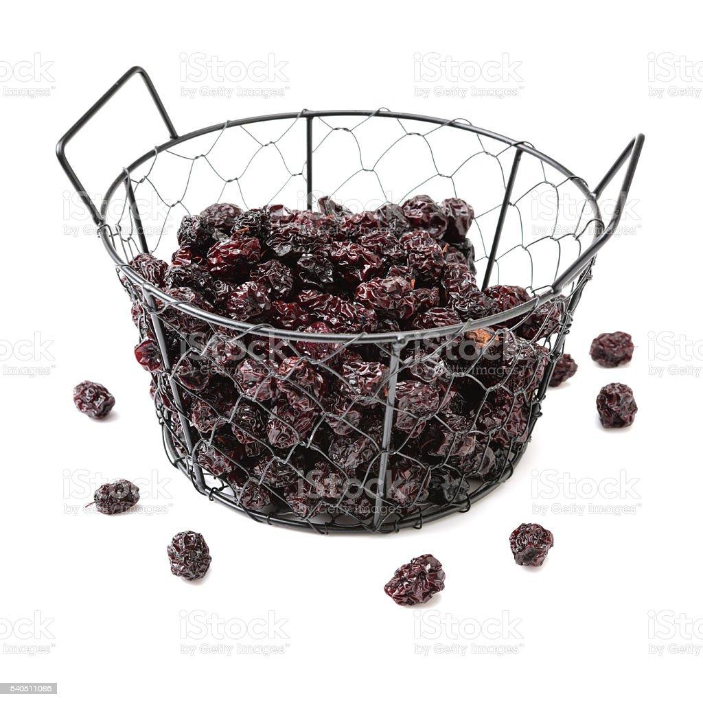 Dried black plum stock photo