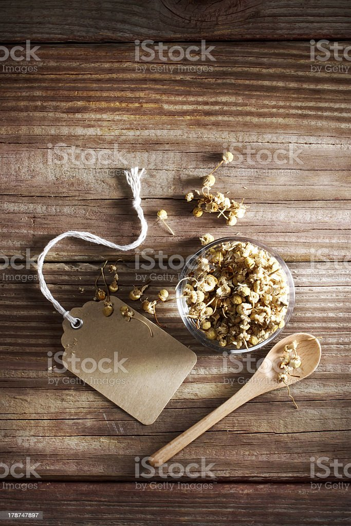 Dried Chamomile Tea royalty-free stock photo