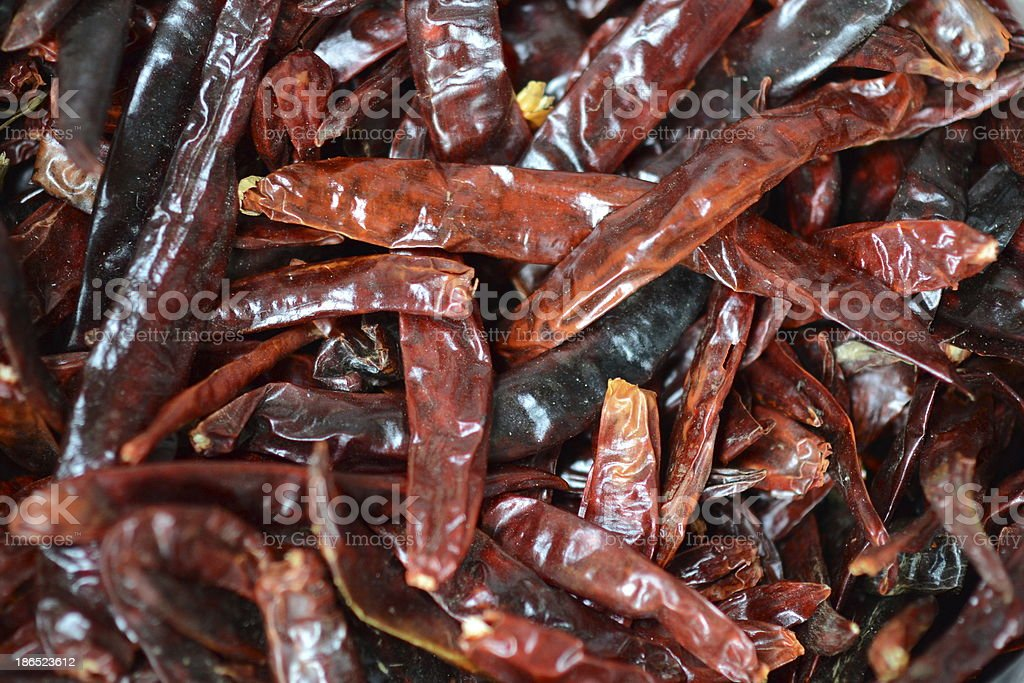 Dried Chili royalty-free stock photo