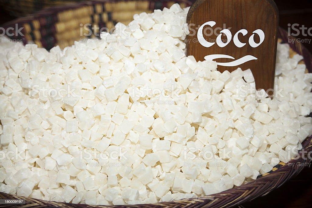 말린 코코넛 개 royalty-free 스톡 사진