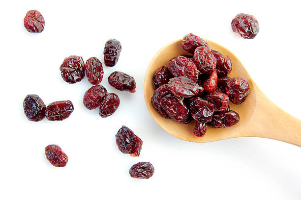 dried cranberry - dry stock photos and pictures