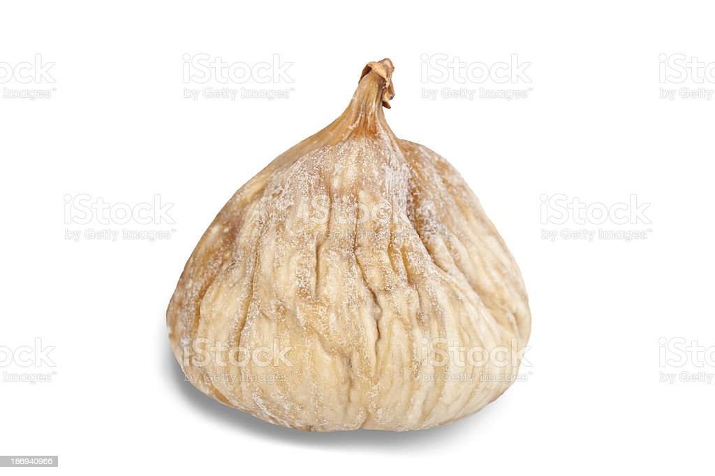 dried fig royalty-free stock photo