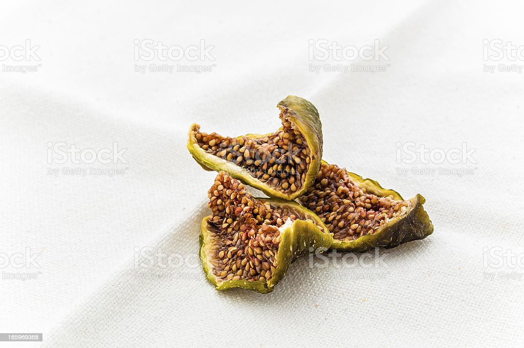 Dried figs royalty-free stock photo