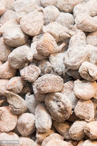 Backgrounds of dried and sweet figs