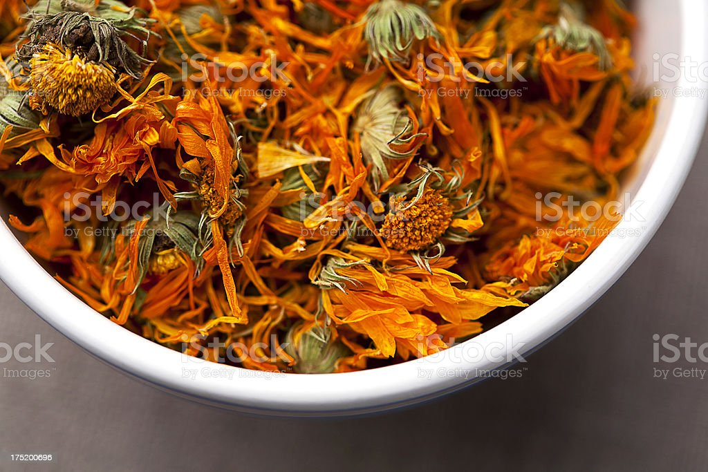 Dried flower tea royalty-free stock photo