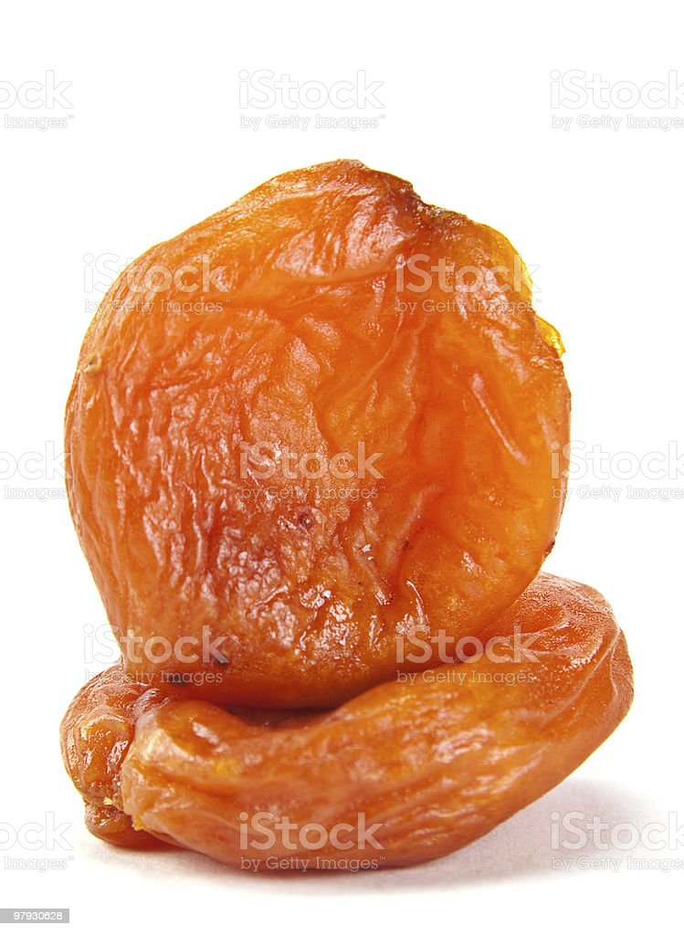Dried fruit apricot royalty-free stock photo