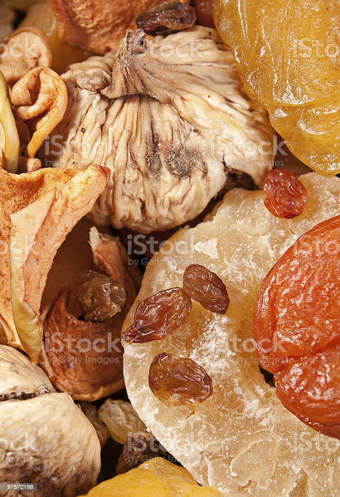 Dried fruit background royalty-free stock photo
