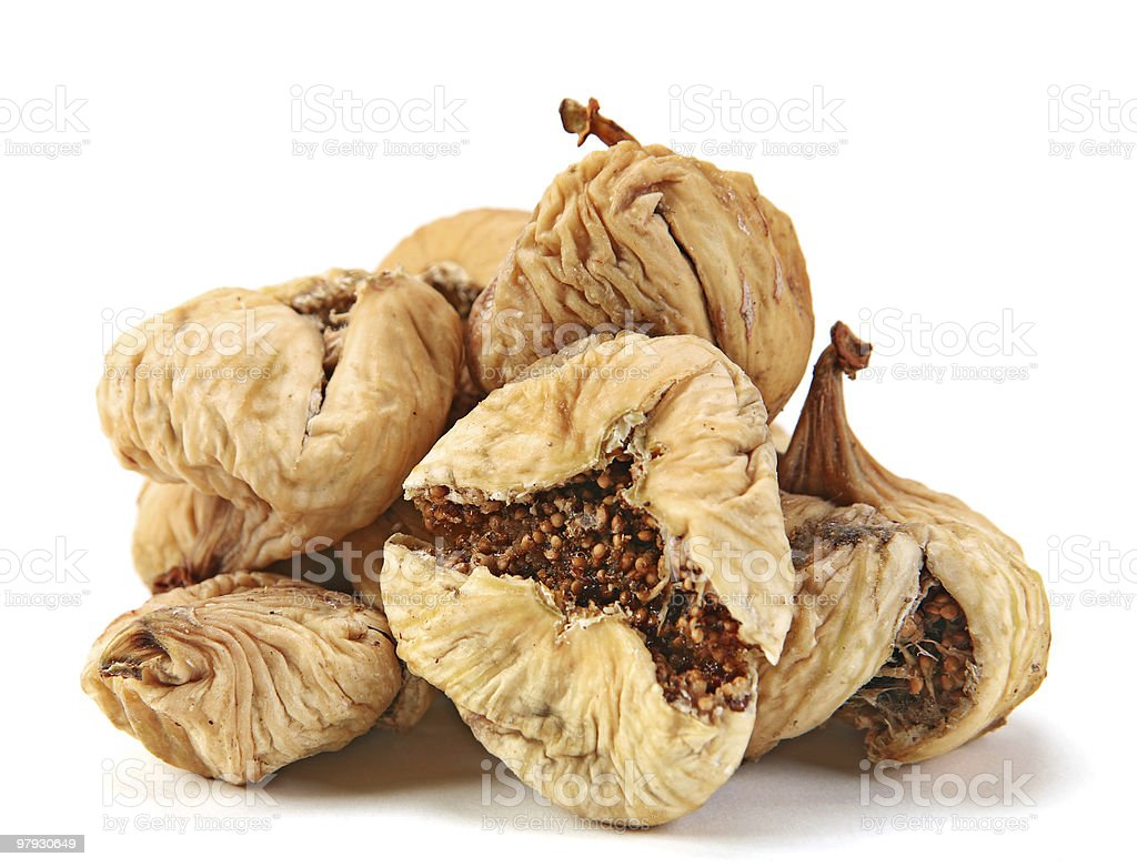 Dried fruit fig royalty-free stock photo