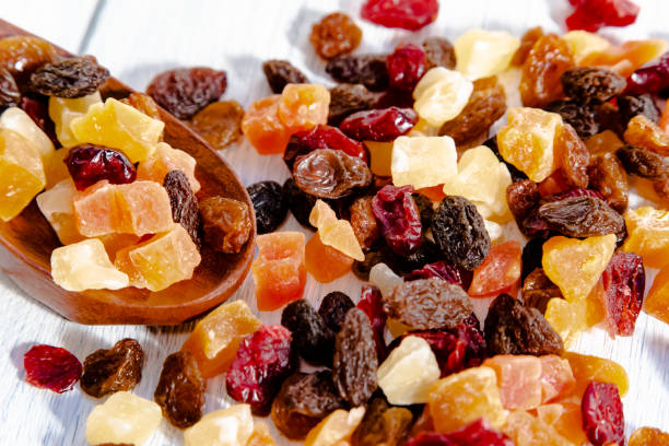 dried fruit stock photo
