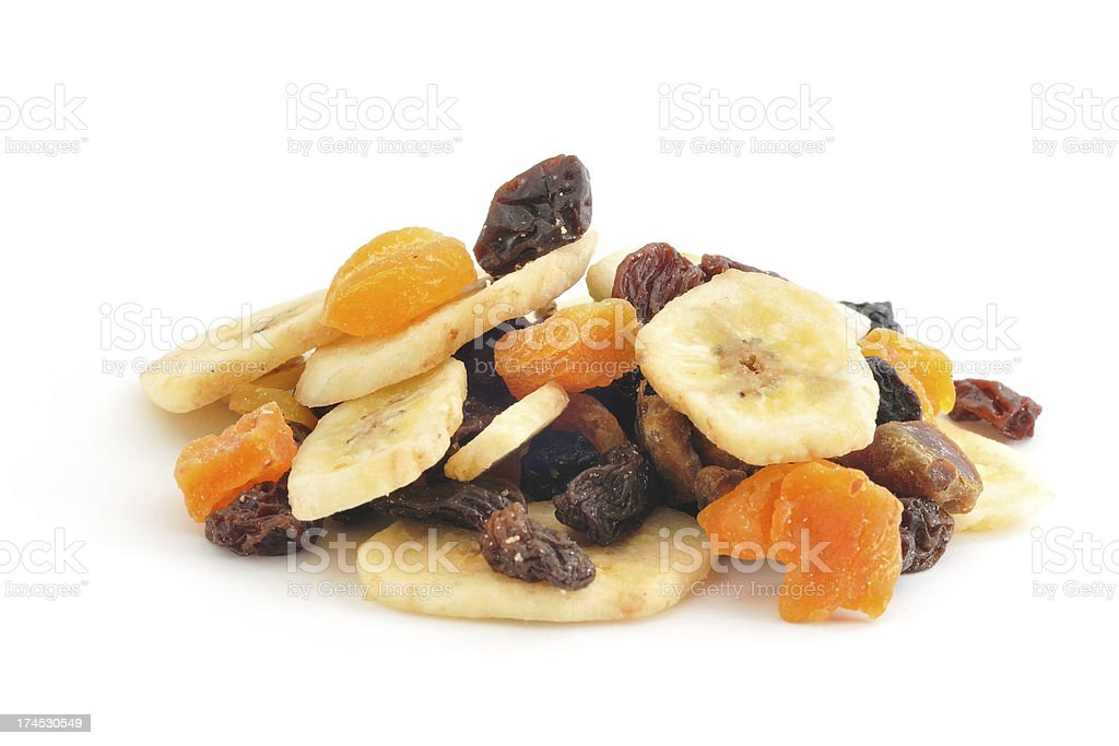 Dried Fruit Pile stock photo