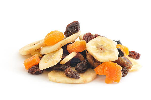 dried fruit pile - dried fruit stock photos and pictures
