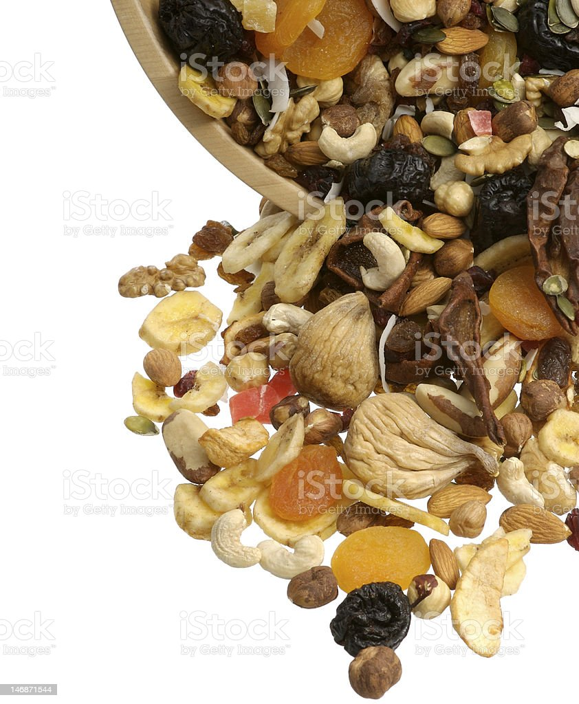 Dried fruits detail royalty-free stock photo