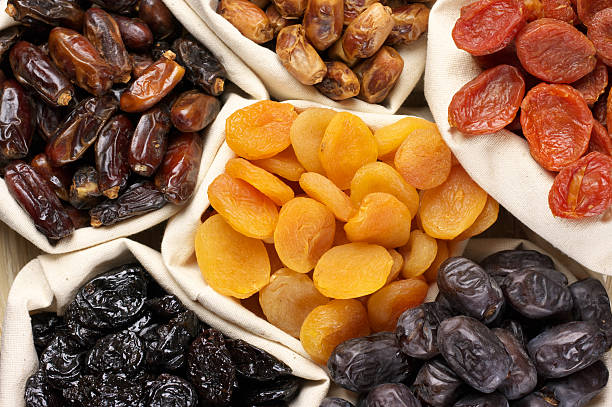 dried fruits - dried fruit stock photos and pictures
