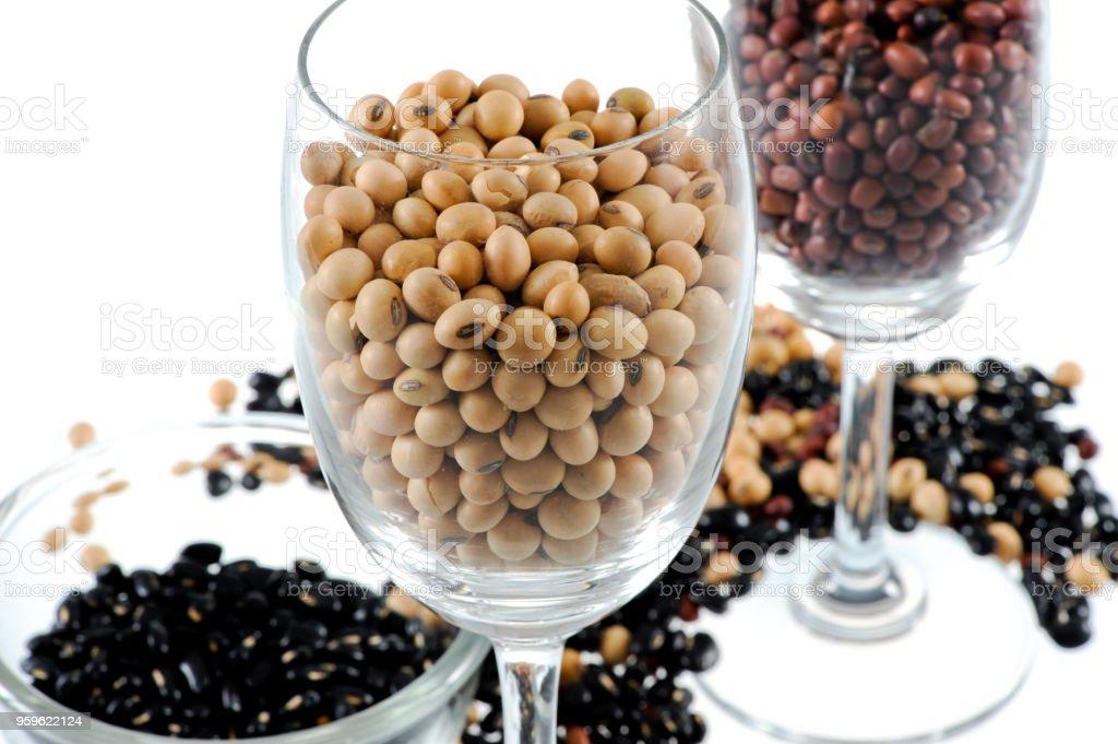 Granos secos - Foto de stock de Alimento libre de derechos