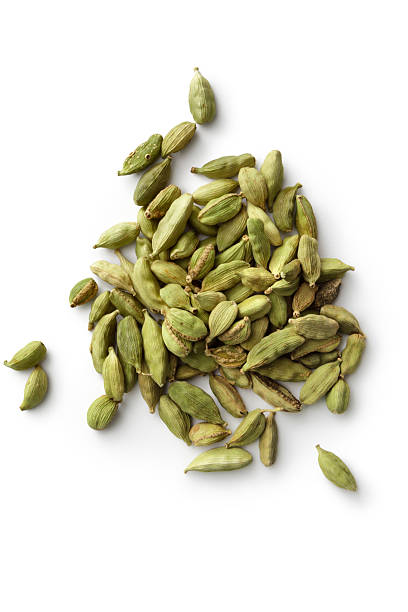 Dried Herbs and Spices: Cardamom More Photos like this here... cardamom stock pictures, royalty-free photos & images