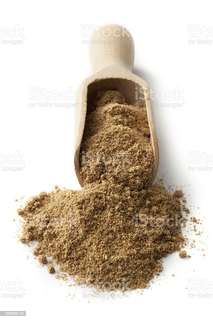 Dried Herbs and Spices: Cumin stock photo