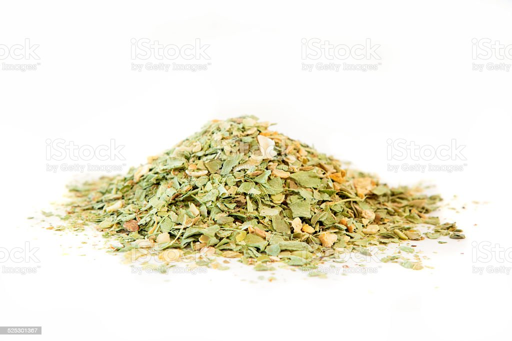 Dried homemade vegetable soup mix stock photo