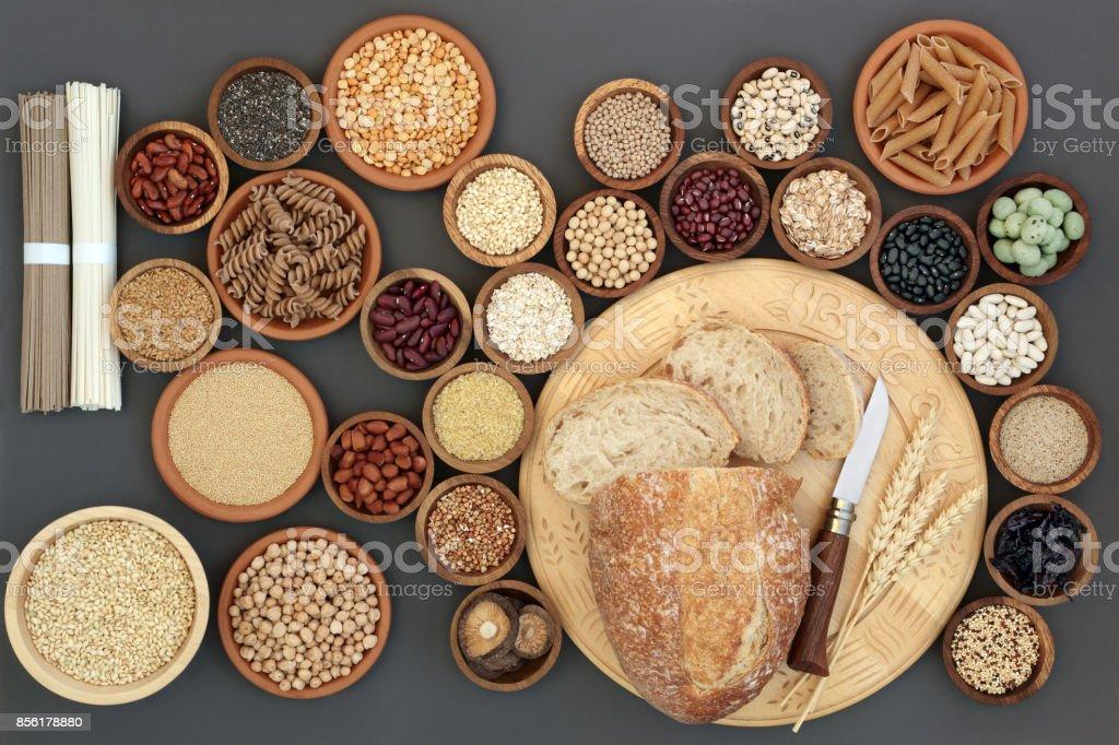 Dried Macrobiotic Healthy Food stock photo