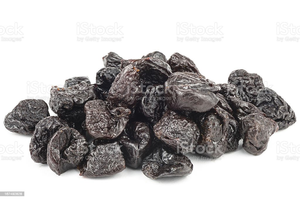 Dried plums royalty-free stock photo
