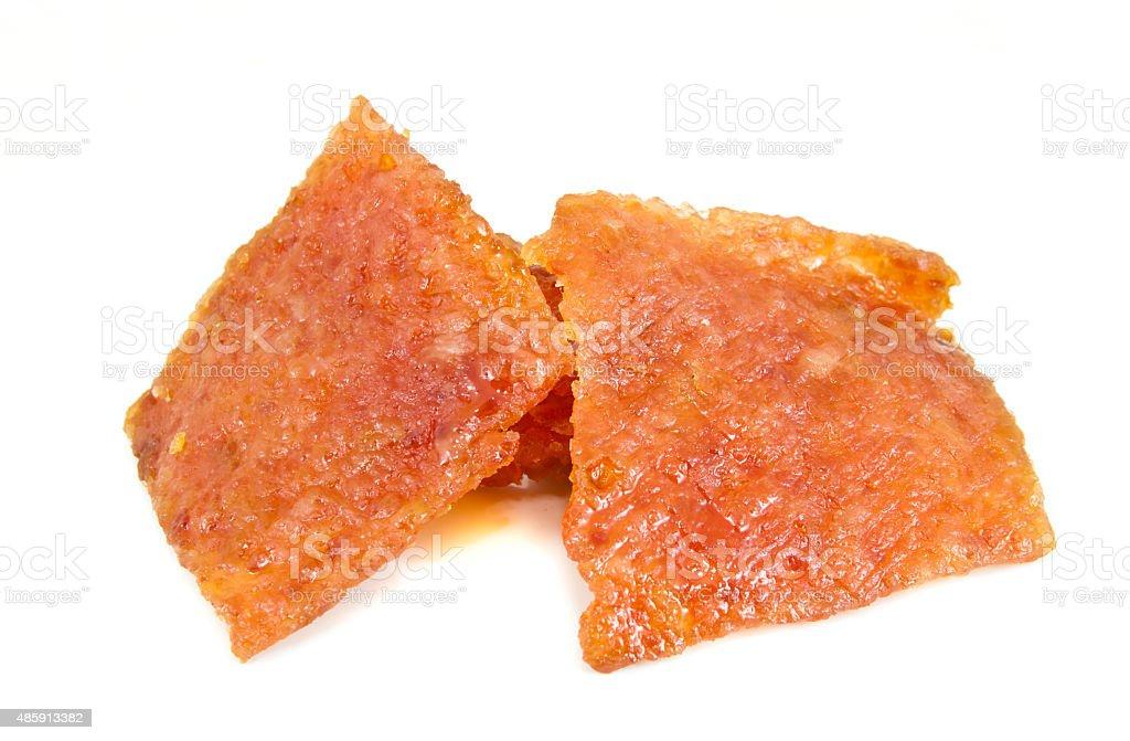 Dried Pork stock photo