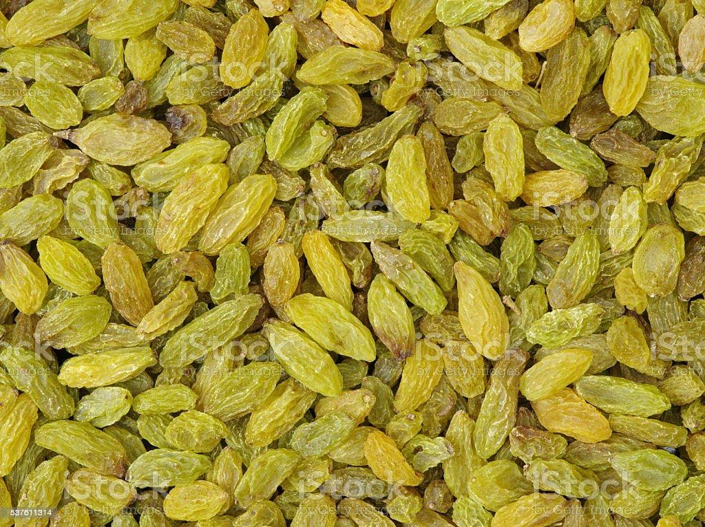dried raisins stock photo