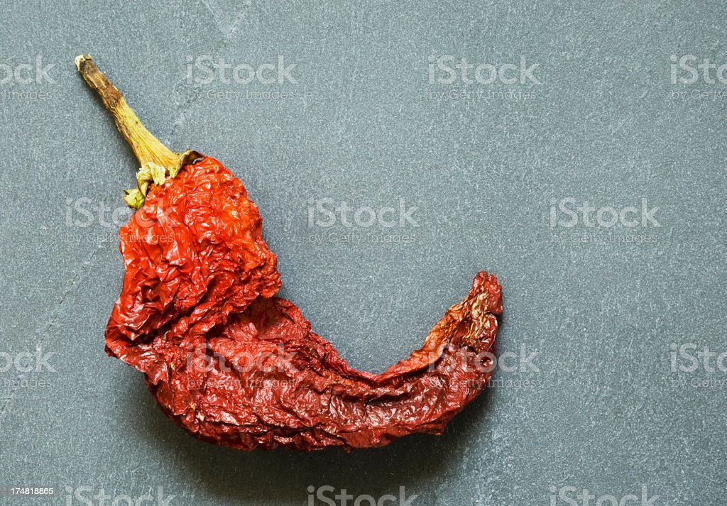 Dried Red Chili Pepper royalty-free stock photo