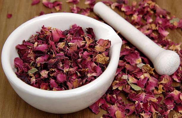 Getrocknete Rose petals – Foto